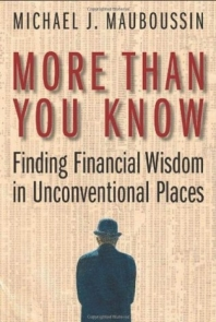 More Than You Know: