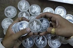 Импорт серебра в Индию