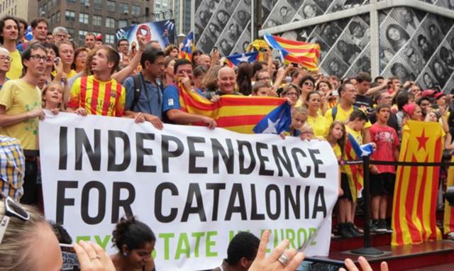 Каталония - начало