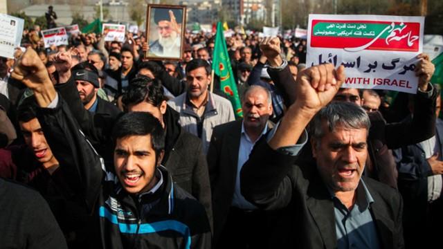 Протесты в Иране: