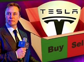 Акции Tesla (TSLA).