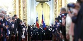 Путин официально вступил