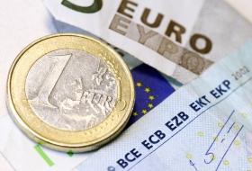 Евро снижается пятую
