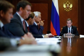 Медведев: объем экспорта