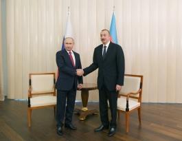 Алиев: Россия – основной