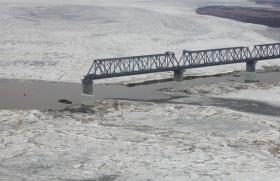 МВР: первый ж/д мост