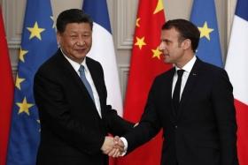 Франция и Китай работают