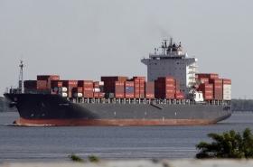 В США задержали судно