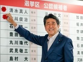 Правящая коалиция Абэ