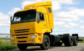 Продажи грузовых