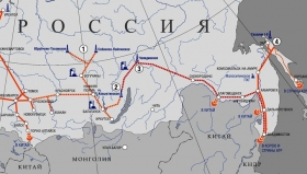 Газпром поставил в Китай