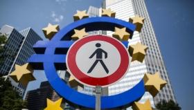 ЕЦБ: ВВП еврозоны упадет